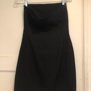 RALPH Ralph Lauren Strapless Black Dress